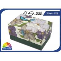 China Small Hard Paperboard Luxury Gift Box Packaging For Bath Bomb / Soap / Candle wholesale