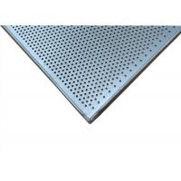 China Perforated Rectangular Baking Tray , Commercial Bakery Equipment Cake Pans wholesale