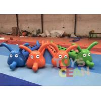 China Jumping Worm Inflatable Sports Games Caterpillars Funny Games For Team Works wholesale