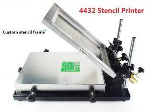 4432 320*440mm Manual Stencil Printer , Solder Paste Printer SMT Production Line