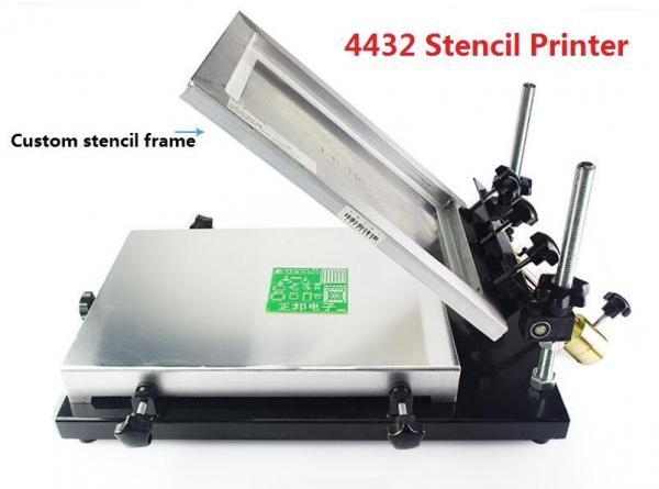 Quality 4432 320*440mm Manual Stencil Printer , Solder Paste Printer SMT Production Line for sale
