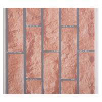 China X Hollow Core Structure Plastic Brick Wall Panels , Decorative Plastic Wall Covering Sheets wholesale