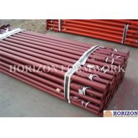 China Painted Scaffolding Steel Prop Adjustable Powder Coating For Slab Post Shoring wholesale