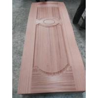 China No Deformation Colored MDF Door Skin With Wood Veneer Finishing Surface 2-4mm wholesale