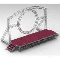 Quality DMX One Channel Aluminum Rotary Circle Stage Llighting Truss For Dj Moving Head for sale