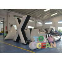China White Indoor Inflatable Paintball Bunkers Durable Portable  For Adults wholesale