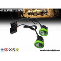China Rechargeable Mining Cap Lights , LED Mining Helmet Lights With CE , ATEX , EXIBII MI Approved wholesale