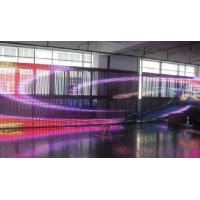 China 18.75mm Waterproof Curtain LED Screen IP65 For Advertising , 5050 SMD LED Display wholesale