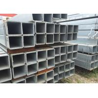 China 40 * 40 * 2.0mm Steel Drilling Hole Steel Rectangular Tubing For House Building wholesale