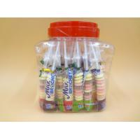 China Funny Milk Flavored Brochette Sugar Candies With Jar Various Candy Shapes wholesale