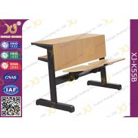 Quality Custom Size Plywood College Classroom Furniture Desk And Chair Seat Folded for sale