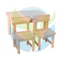 China Wooden Children Table & Chair-Custom Design YM6-060 wholesale