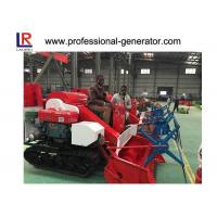 China Mini Rice Harvesting Machines , Small Grain Combine Harvester with Electric starting wholesale