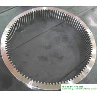 China 4340 Wind Turbine Rolled Ring Forging Flange Gearbox EN10228 ASME wholesale