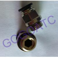 "Buy cheap Pneumatic 6mm Thread 1/4"" Quick Connect Connector , Air Straight Hose Fitting from wholesalers"