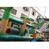 China Ultimate Obstacle Course Bounce House / Bouncy Castle Playground For Kids wholesale