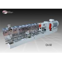 China Eco - Friendly Dual Screw Extruder , Large Diameter Plastic Extrusion Machine wholesale