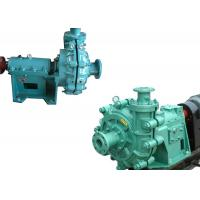 Quality High Chrome Alloy Abrasive Slurry Pump , Cement Slurry Pump Diesel / Electronic Fuel for sale