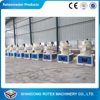 Quality 1-1.5Ton/h Output Ring Die Wood Pellet Machine  , Wood Pellet Press Machine with CE for sale