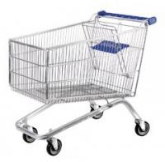 120L Supermarket Shopping Trolleys Plastic Trolley Series HBE-P-2(120L)