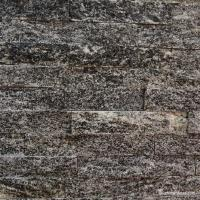 China Gray Granite Culture Stone Ledge Panel Wall Cladding Polished Surface on sale