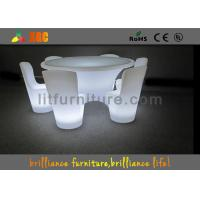 China Illuminated Banquet Tables Led Lighting Furniture For Event / Party / Bar wholesale