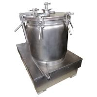 China Manual CBD Oil Solvent Extraction Centrifuge / Vertical Biomass Centrifuge For CBD on sale