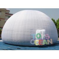 China Portable School Inflatable Planetarium Dome Projection Tent Double Stitched wholesale