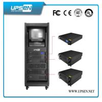 Quality Modular Rack Mount UPS Uninterrupted Power Supply with Pure Sine Wave , Low for sale