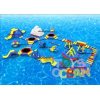 China Open Sea Floating Outdoor Inflatable Water Park Commercial Superior wholesale