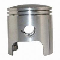 China Piston for motorcycle, made of heat-resistant stainless steel, OEM orders are welcome wholesale