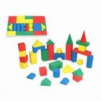 China 4cm EVA Building Blocks, Customized Shapes and Colors are Welcome wholesale