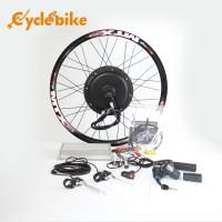 China 72v 3000w Electric Bicycle 700c Hub Motor Wheel Kit With Sine Wave Controller on sale