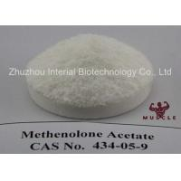 China Raw Lean Muscle Methenolone Enanthate Steroids Hormone Powder Methenolone Acetate CAS 434-05-9 wholesale