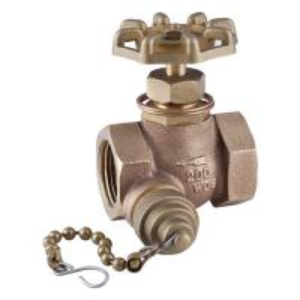China 200WOG Brass globe valve, water stop valve npt bsp on sale