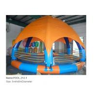 China Inflatable pool / inflatable water pool / giant round pool with Canopy wholesale