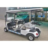 Quality Square Amusement Park Electric Tractor , Electric Sightseeing Vehicles for sale