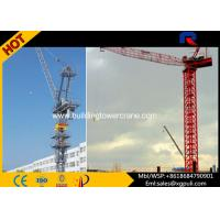 China Span 50M Mini Truck Mounted Tower Crane , Luffing Jib Crawler Crane For Constructions wholesale