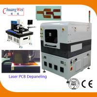 China High Accuracy FPC / Rigid - Flex PCB Laser Depaneling Machine 10W / 12W wholesale