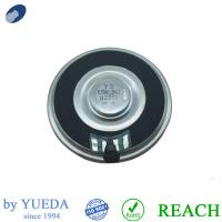 China Small Round Thin Raw Subwoofer 3W 8 Ohm Black Door Bell Ringing Music Player Audio Driver on sale