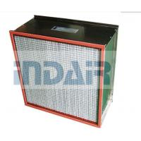China 500Pa Final Pressure Drop Custom HEPA Filter H13 With 350℃ Heat Resistant Separator wholesale