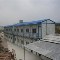 China 15-35 years fireproof glass wool sandwich panel prefabricated house for worker house on sale