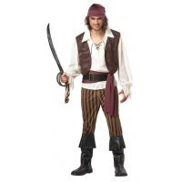 China Halloween Police Party Adult Costumes California Costumes Men's Rogue Pirate Costume wholesale