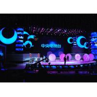 Quality P3 Super HD Rental LED Displays , stage background led screen Die casting Cabinet for sale