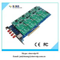 China Asterisk card for wireless gsm card with 4 ports pci interface wholesale