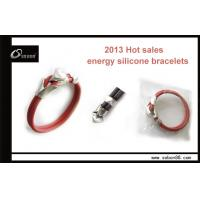 China China power balance energy silicone bracelet exporters with competitive price on sale