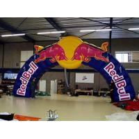 China 2014 Hot sale inflatable arch/Inflatable Finish Archway with LOGO printing wholesale