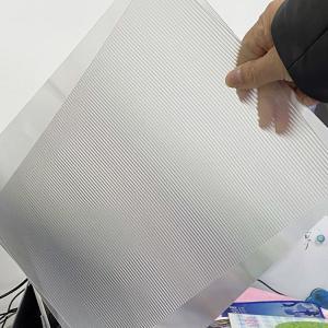 China PET 200LPI/ 75/100/161 Lpi lenticular lens sheet 3D Film Lenticular Lens Sheet for injekt print and uv print wholesale
