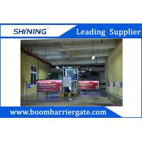 Buy cheap Waterproof Parking Lot Boom Advertising Barriers Durable For Outdoor from wholesalers