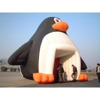 China 6x7m advertising penguin Inflatable Tent/ Inflatable Marquee wholesale